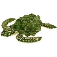 Plush Loggerhead Sea Turtle 30 Inch Jumbo Stuffed Reptile By Fiesta at Stuffed Safari