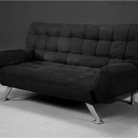 Sofabed 01 - Black, Modern Sofa Beds, Living Room Furniture: Nyfurnitureoutlets.com