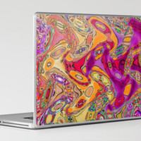 Kaleidoscope Laptop & iPad Skin by Ingrid Padilla  | Society6