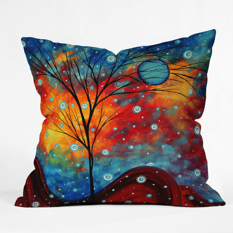 DENY Designs Home Accessories | Madart Inc. Summer Snow Throw Pillow