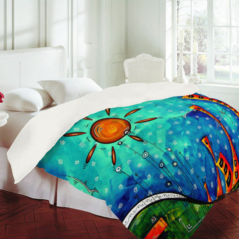 DENY Designs Home Accessories | Madart Inc. Funky Town Duvet Cover