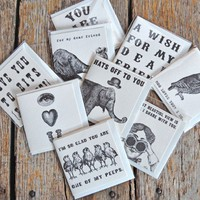 Vintage Inspired Notecards - Set of 75