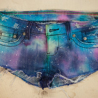 Rainbow Galaxy Shorts
