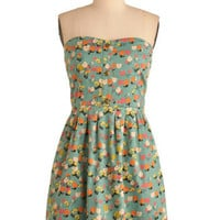 Tulle Clothing Coloring Book Ending Dress | Mod Retro Vintage Dresses | ModCloth.com