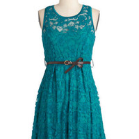 The Teal of the Night Dress | Mod Retro Vintage Dresses | ModCloth.com