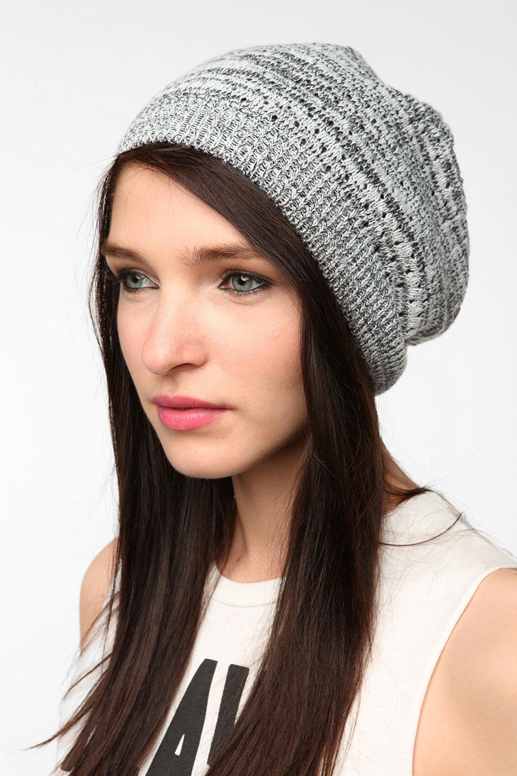 Pins and Needles Lightweight Marled Beret