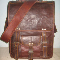 Leather Messenger Bag overlander bag Brown Leather satchel Leather briefcase Leather Laptop BagsLeather  Macbook Bags crossbody bags