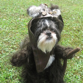 Ewok Star Wars Dog Halloween Costume Size Medium
