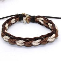 Jewelry Bracelet Cuff Bangle Bracelet Rope Bracelet Leather Bracelet Men Bracelet Women Bracelet B564