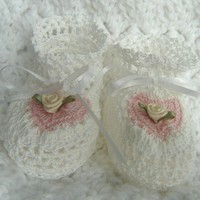 MADE TO ORDER Be Mine Crochet Baby .. on Luulla