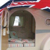 Vintage Style Retro Caravan - the English Caravan company