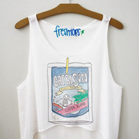 Capri Sun Surfer Blood Fresh Tops Crop Top | fresh-tops.com