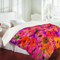 DENY Designs Home Accessories | Amy Sia Fleur Rouge Duvet Cover