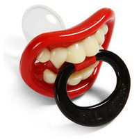 ThinkGeek :: Lil' Vampire Pacifier