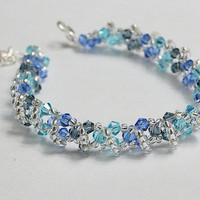 Ice crystal bracelet