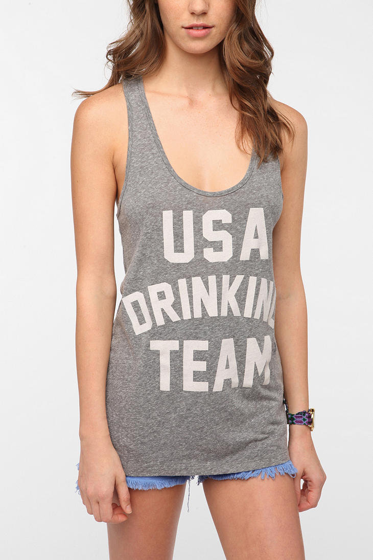 Truly Madly Deeply USA Drinking Team Tank