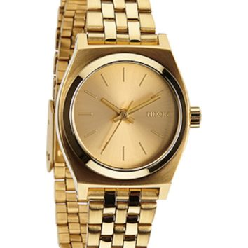 Nixon Small Time Teller - Gold