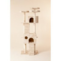 New 72` `The Siamese` Cat NapTM Cat Tree Condo Pet Furniture Scratching Post Pet House Premium Quality