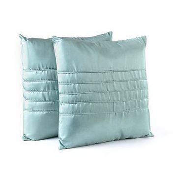 Ridged Blue Pillow, Set of 2 at Kirkland's