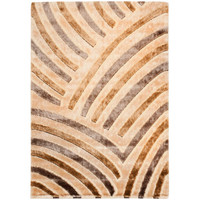 Safavieh SG354-1391-5 Miami Shag Beige and Multi Rectangle: 5 Ft. 3 In. x 7 Ft. 6 In. Area Rug