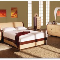 Symphony Bedroom Set, Beds And Bedroom Sets, Modern Bedroom Set: Nyfurnitureoutlets.com