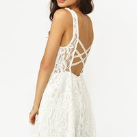 Layla Lace Dress - White