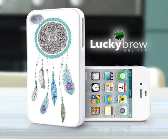 iPhone 4 4s Hard Case - Dreamcatcher Dream Catcher 001 - Indian Phone Cover