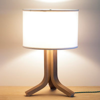 Traverse Bent Plywood Table Lamp