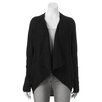 It's Our Time Marled Cocoon Cardigan - Juniors