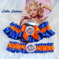 NY Mets Garters - 2pc set