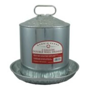 Harris Farms Double Wall Drinker, 2 gal. Capacity