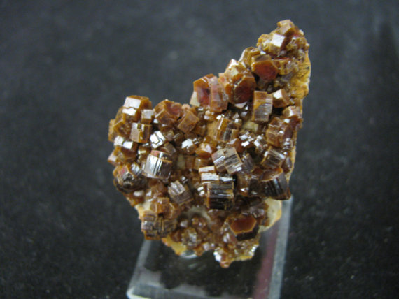 Vanadinite -- Mibladen Mines, near Midelt, Khenifra Prov., Morocco