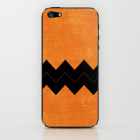 Halloween Chevron iPhone & iPod Skin by Kat Mun | Society6
