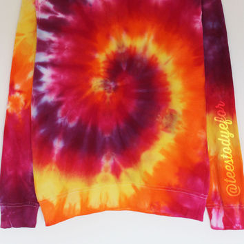 Candy Corn (Ready for Dispatch) #tiedye #ombre #sweater #fallfashion #halloween #jumper