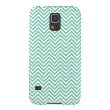 Mint Green Aztec Zigzag Chevron Tribal Pattern Galaxy S5 Case