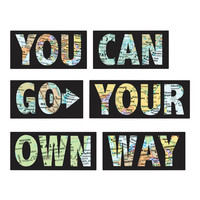 I liked this design on #Fab. Go Your Own Way Wall Quote