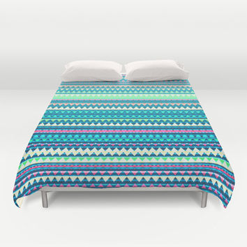 Mix #329 Duvet Cover by Ornaart