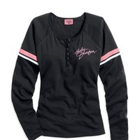 Harley-Davidson Pink Label Performance Knit Top