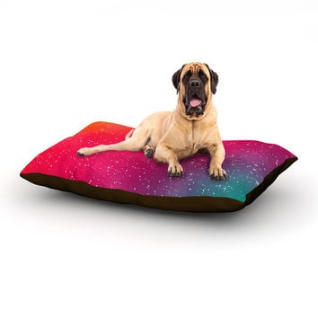 "Fotios Pavlopoulos ""Colorful Constellation"" Pink Glam Dog Bed"