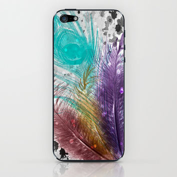 Feathers and Ink iPhone & iPod Skin by DuckyB (Brandi)