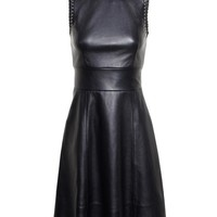 BALENCIAGA | Sleeveless Leather Dress | Browns fashion & designer clothes & clothing