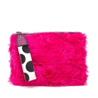 HOUSE OF HOLLAND | Eco-Fur Bag Of Tricks Clutch | Browns fashion & designer clothes & clothing