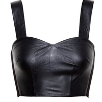 LOVE LEATHER | Leather Bralet | Browns fashion & designer clothes & clothing