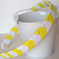 Sunshine Chevron Headband: Half Inc.. on Luulla