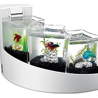 Aqueon Kit Betta Falls for Aquarium, White