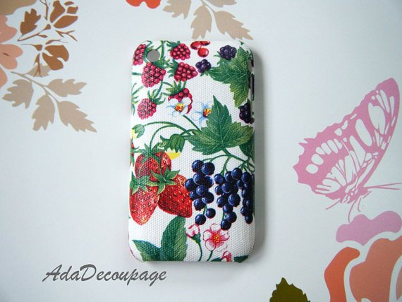 Mixe Berry - iPhone 3g Case , iPhone3gs Case , iPhone Case , Case Handmade
