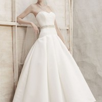 Buy Satin Ball Gown with Dropped Waist Style CES329  , from  for $155.29 only in Fashionwithme.com.