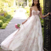 Buy Strapless Organza Soft A-Line Gown Style T3267  , from  for $298.37 only in Fashionwithme.com.