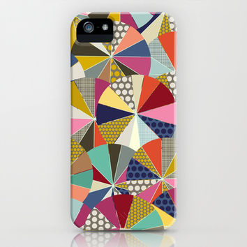 geo brolly iPhone & iPod Case by Sharon Turner | Society6
