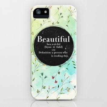 Beautiful  iPhone & iPod Case by Sara Eshak
